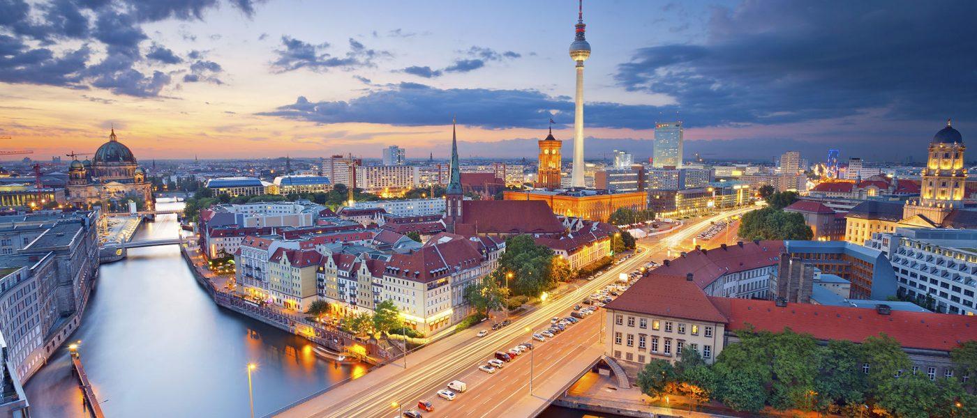 Berlin - wieczorna panorama