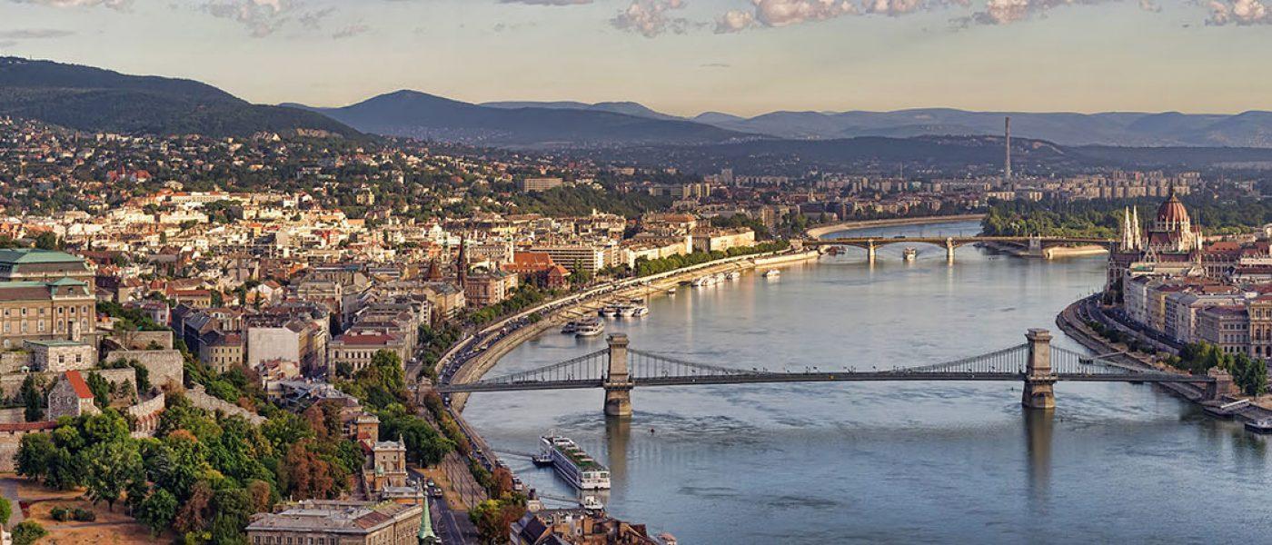 Budapeszt - panorama miasta