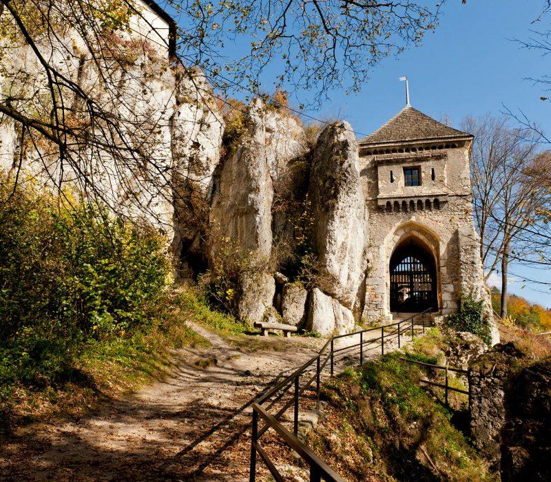 Ojcowski Park Narodowy - ruiny zamku Kazimierza Wielkiego