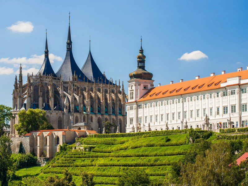 Kutna Hora - katedra i kolegium jezuickie