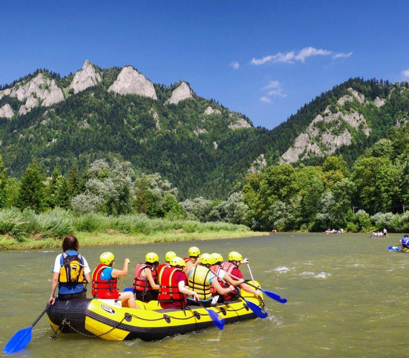 Dunajec - rafting