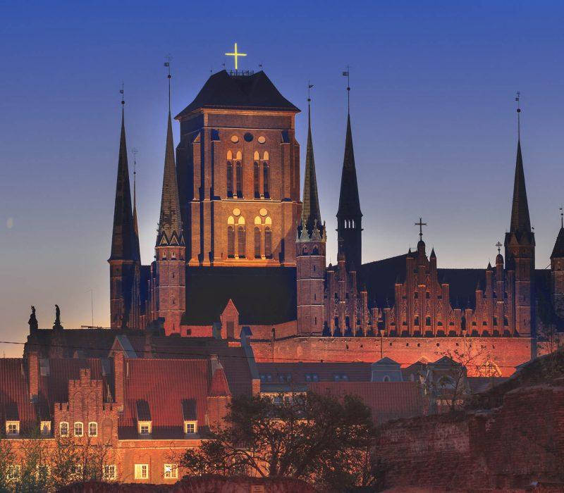 Gdańsk - bazylika mariacka