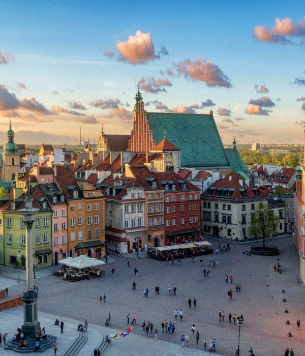 Warszawa - Plac Zamkowy