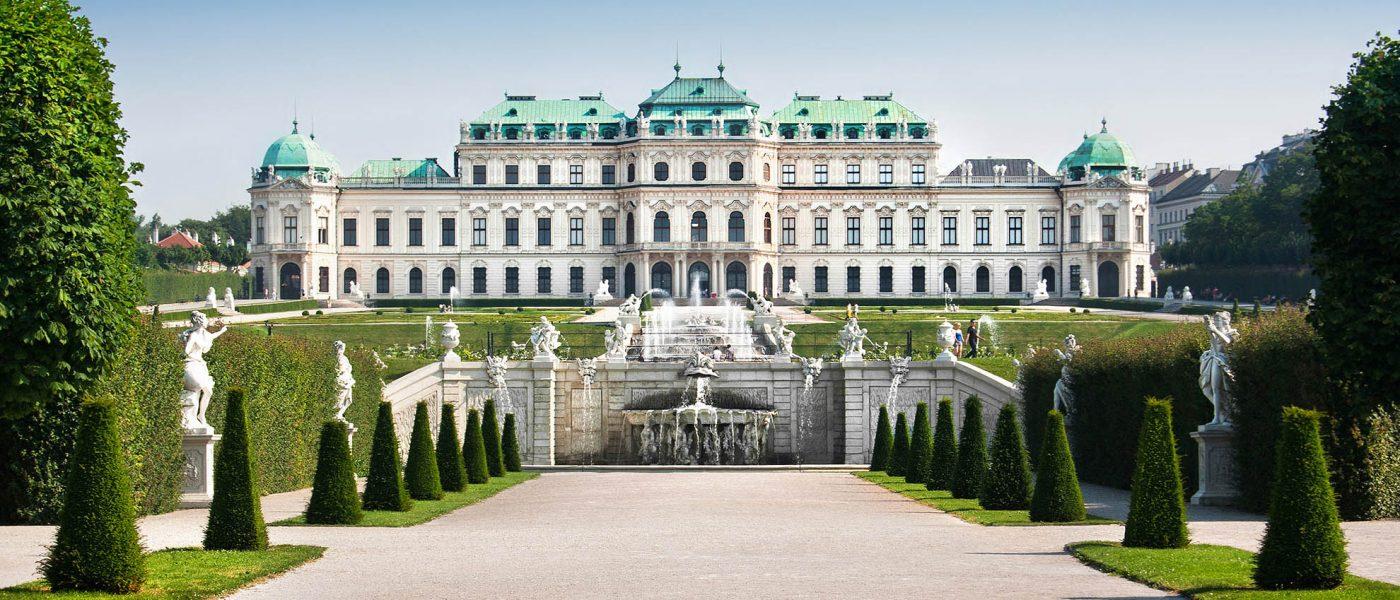 Wiedeń - pałac Belweder