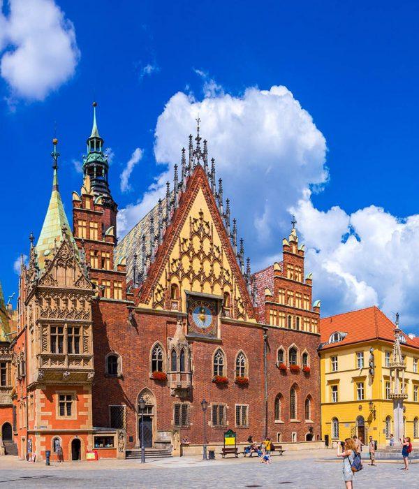 Wrocław - gotycki ratusz